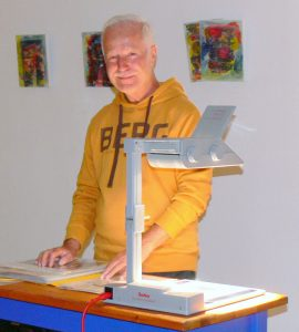 Carlo Weichert, Vortrag