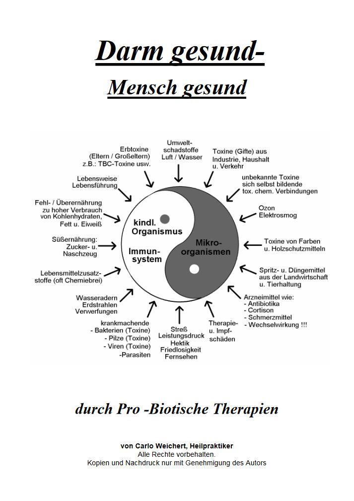 Download Darm gesund - Mensch gesund (345kB) durch Pro-Biotische Therapien