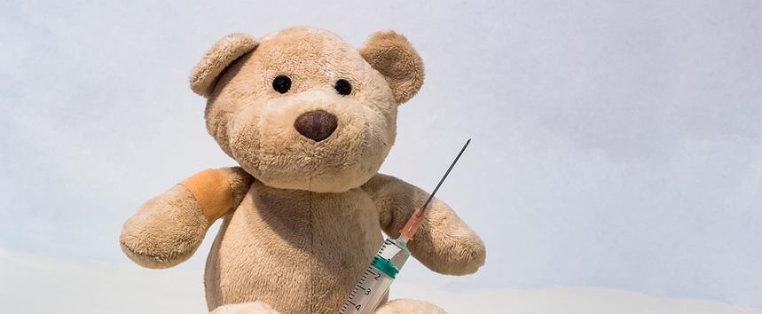 Kind mit Impfschäden